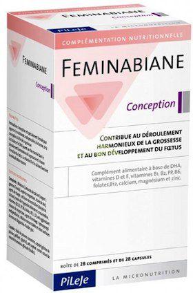 Pileje Feminabiane Concepcion 28 comprimidos+28 cápsulas