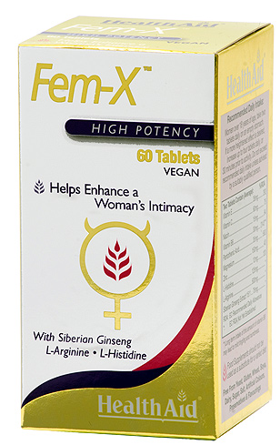 Health Aid Fem-X  60 comprimidos