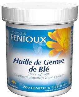 Fenioux Aceite Germen de Trigo 200 cápsulas