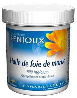 Fenioux Aceite Hígado de Bacalao 200 cápsulas