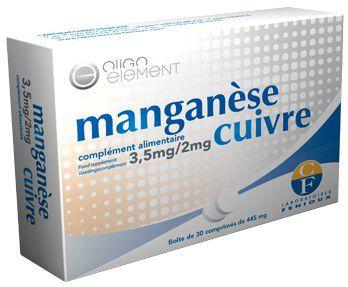 Fenioux Manganeso Cobre 30 comprimidos