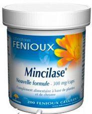 Fenioux Mincilase 300mg 200 cápsulas