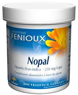 Fenioux Nopal 200 cápsulas