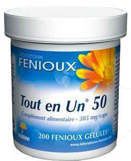 Fenioux Todo en Uno 50 Oligoelementos 200 comprimidos
