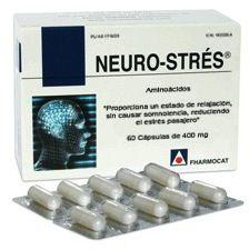 Fharmocat Neuro Strés 60 cápsulas