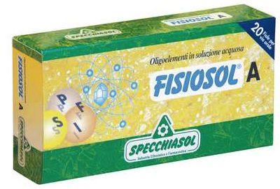 Specchiasol Fisiosol A 20 ampollas
