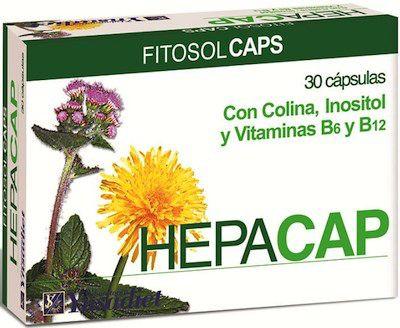 Fitosol Hepacap 30 cápsulas