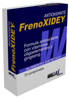 Wallax Farma Frenoxiday 72 cápsulas