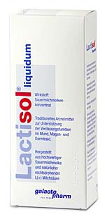 Galacto Pharm Lactisol Liquidum 250ml
