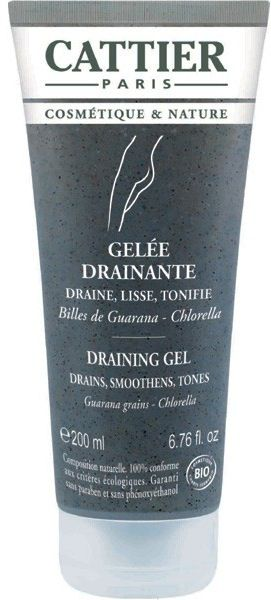 Cattier Gel Drenante-Reafirmante-Tonificante 200ml