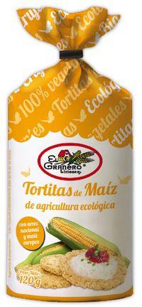El Granero Integral Tortitas de Maíz Bio 120g