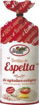 El Granero Integral Tortitas de Espelta Integral Bio 108g