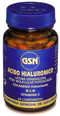 GSN Ácido Hialurónico 60 comprimidos
