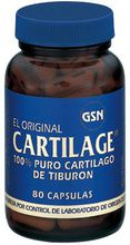 GSN Cartilage 740mg 80 cápsulas