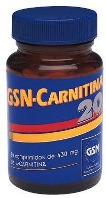 GSN L Carnitina Pura 80 comprimidos