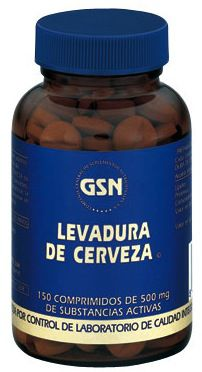 GSN Levadura de Cerveza 500mg 150 comprimidos