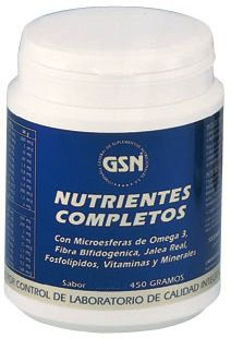 GSN Nutrientes Completos sabor chocolate 450g