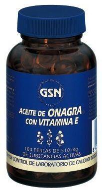 GSN Onagra Vitamina E 510mg 100 perlas