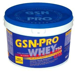GSN Pro Whey sabor chocolate 750g