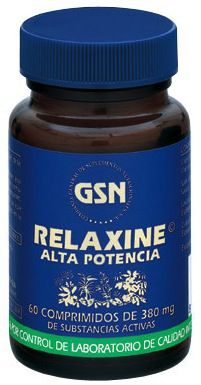 GSN Relaxine Premium 380mg 60 comprimidos