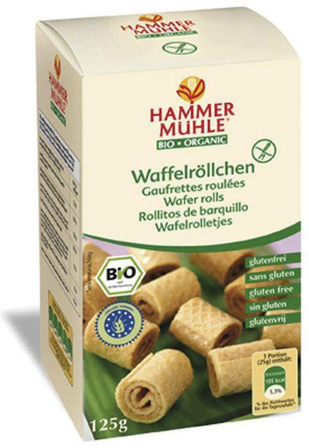 Hammer Mühle Rollitos de Barquillo Bio 125g