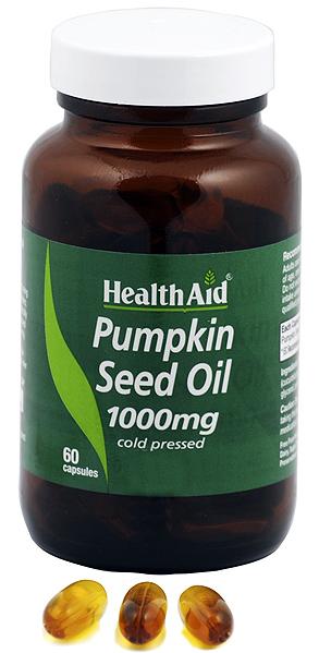 Health Aid aceite de calabaza 1000mg 60 capsulas