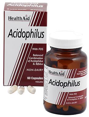 Health Aid Acidophilus Plus 60 capsulas