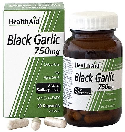 Health Aid Ajo negro 750mg 30 capsulas