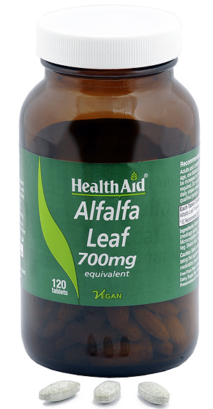Health Aid Alfalfa 700mg 120 comprimidos