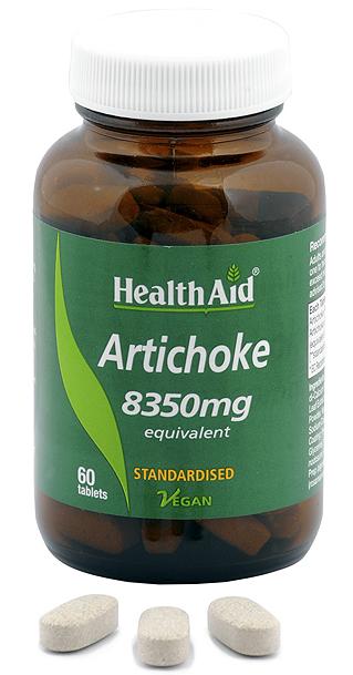 Health Aid Alcachofera 60 comprimidos