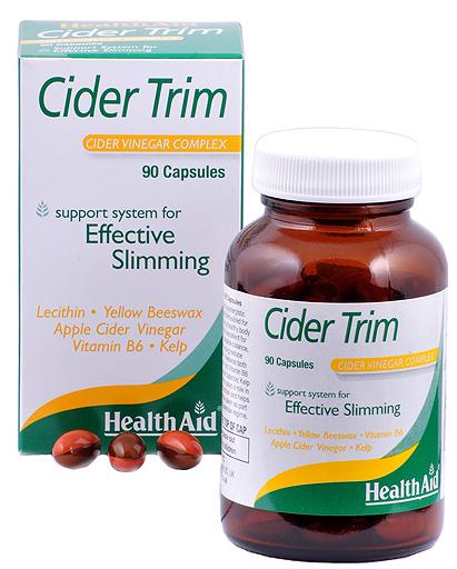 Health Aid Cider Trim 90 capsulas