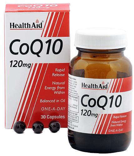 Health Aid CoQ10-10 120mg 30 capsulas