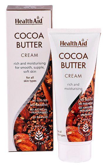 Health Aid Crema Manteca de Cacao 75ml