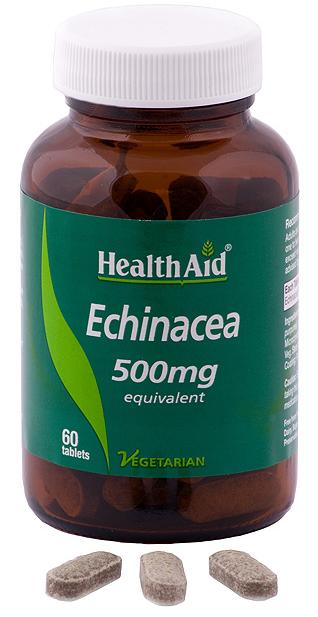 Health Aid Equinacea 500mg 60 comprimidos
