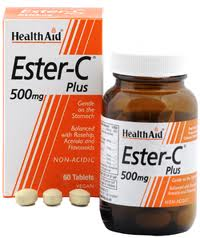 Health Aid Ester C Plus 500mg 60 comprimidos
