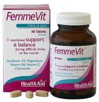Health Aid Femmevit PMS 60 comprimidos