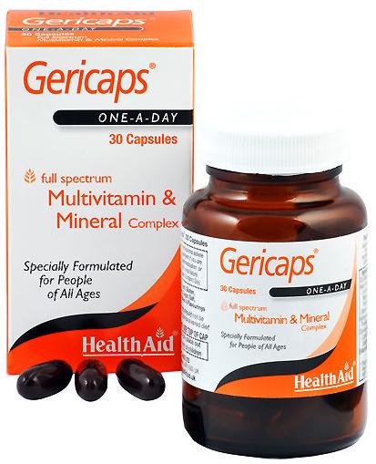 Health Aid Gericaps 30 capsulas