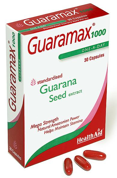 Health Aid Guaramax 1000 30 capsulas