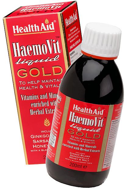 Health Aid Haemovit Gold liquido 200ml