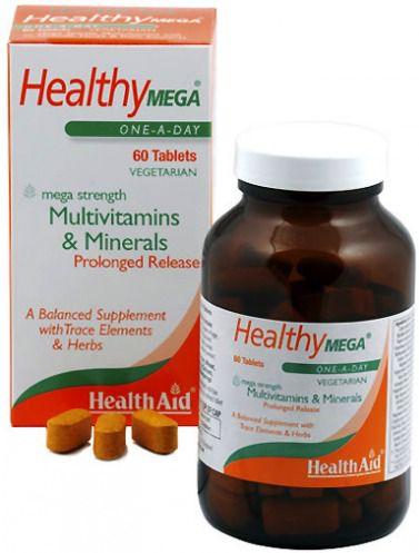 Health Aid Healthy Mega 60 comprimidos