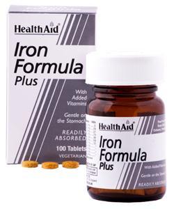 Health Aid hierro complex - Iron formula 100 comprimidos