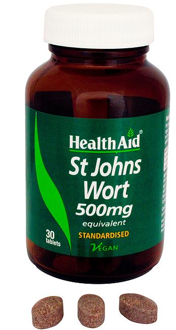 Health Aid Hiperico 500mg 30 comprimidos