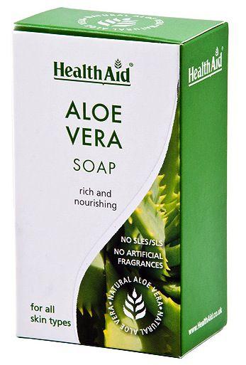 Health Aid Jabón Aloe Vera 100g