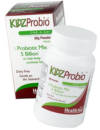 Health Aid Kidzprobio polvo 30gr