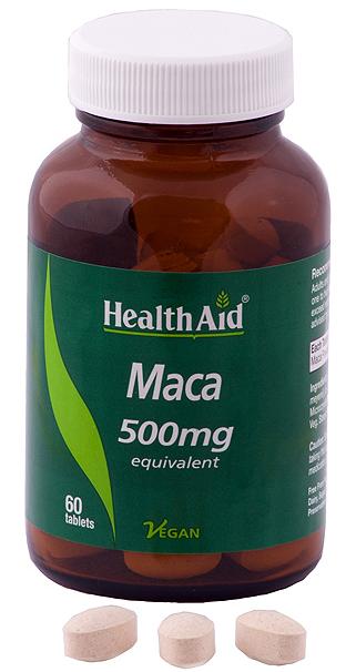 Health Aid Maca 500mg 60 comprimidos