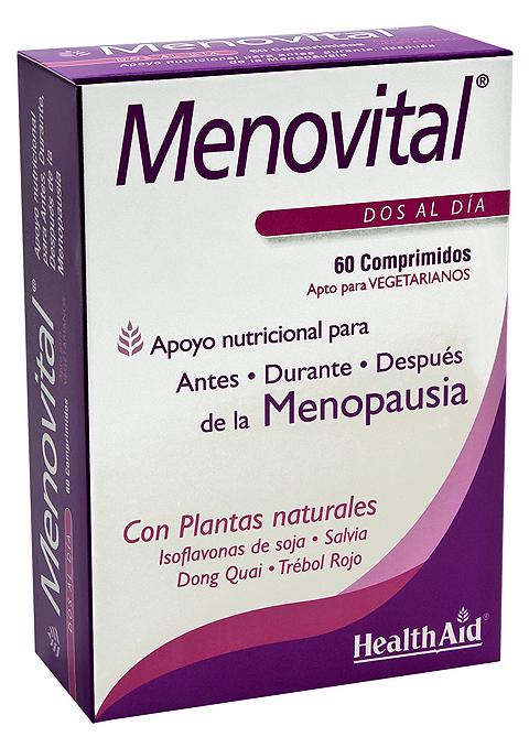 Health Aid Menovital 60 comprimidos