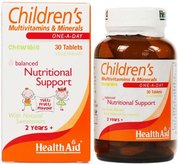 Health Aid Children´s Mulvitamins 30 comprimidos