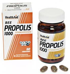 Health Aid Propolis 1000  60 comprimidos
