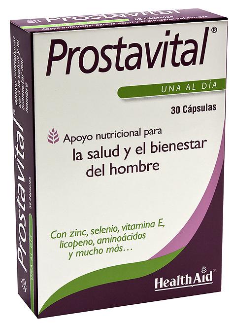 Health Aid Prostavital 30 capsulas