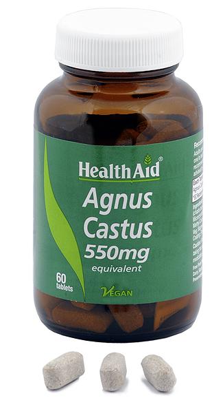 Health Aid Sauzgatillo 550mg 60 comprimidos